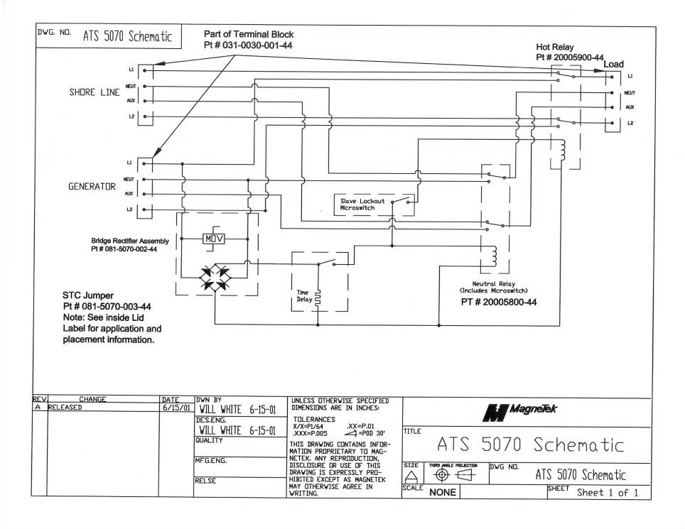 Onan automatic transfer switch wiring diagram sequence